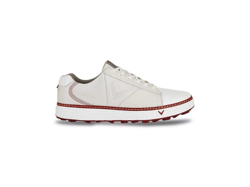 CALLAWAY pánské golfové boty M559-27 Del Mar Retro bílo-šedé