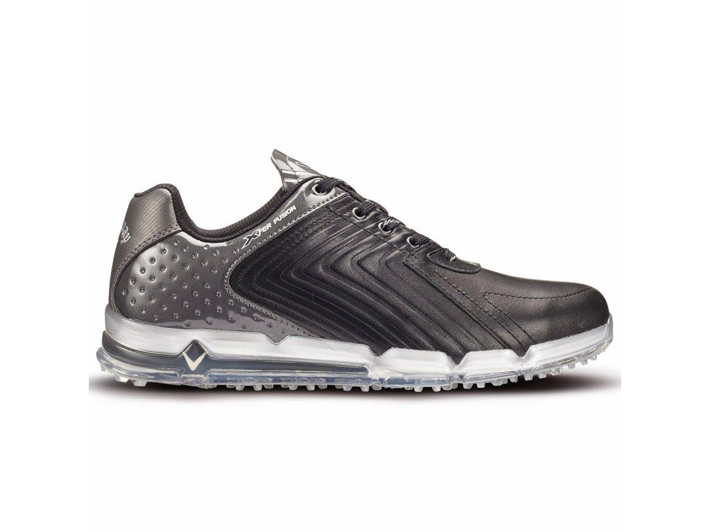 CALLAWAY pánské golfové boty M556-02 XFER Fusion černo-šedé