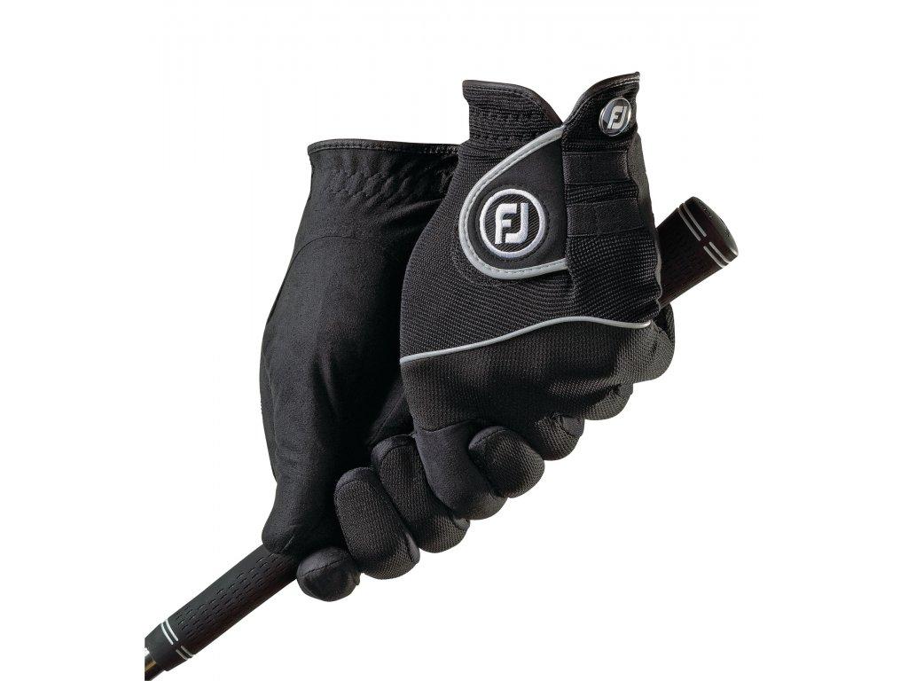 FOOTJOY rukavice RainGrip černá (Velikost rukavic XL)