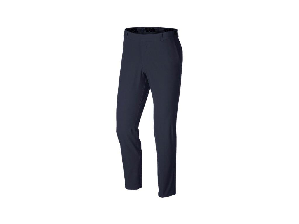 NIKE Flex Slim pánské golfové kalhoty modré zepředu