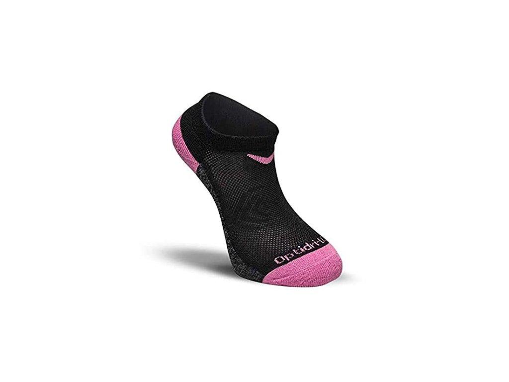 CALLAWAY Technical Optidri Low dámské ponožky černo-růžové