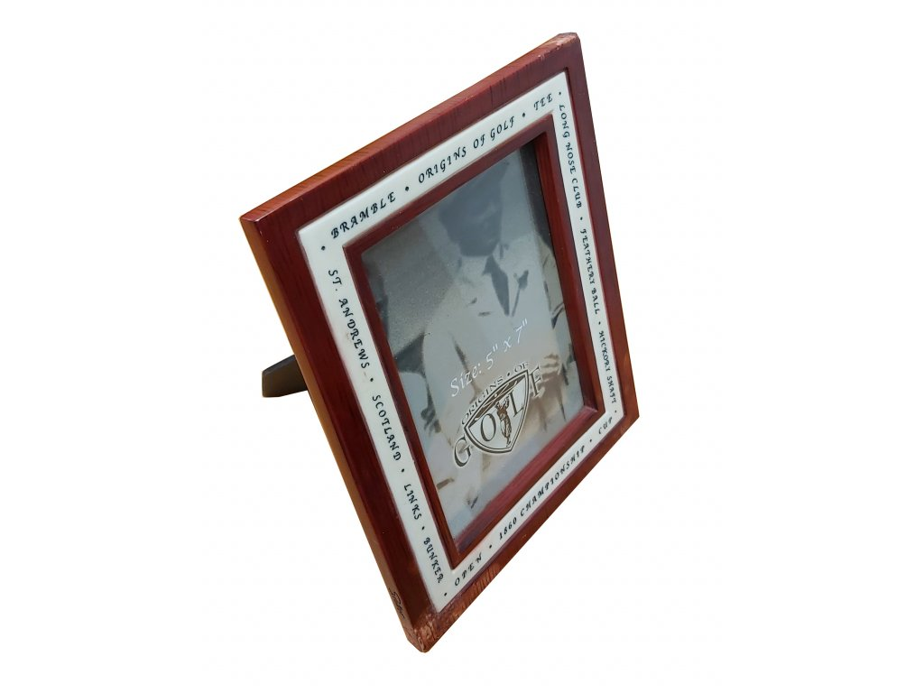 Rámeček na fotku - imitace mahagonu