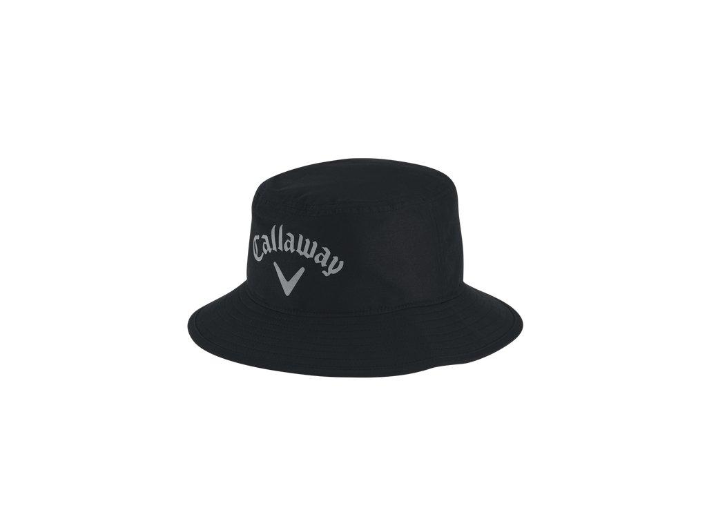 CALLAWAY nepromokavý klobouk černý (Velikost oblečení L/XL)