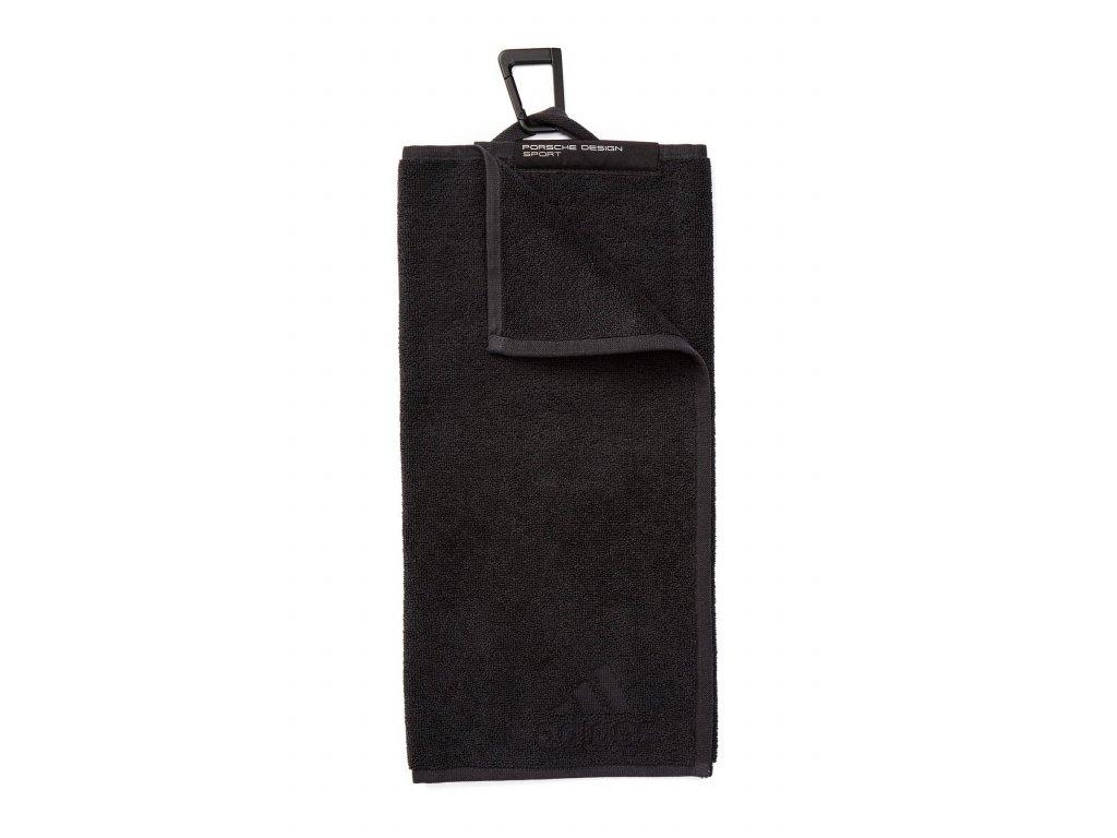 ADIDAS Porsche Design ručník černý