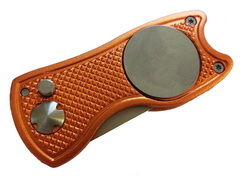 Alu golfové vypichovátko oranžové