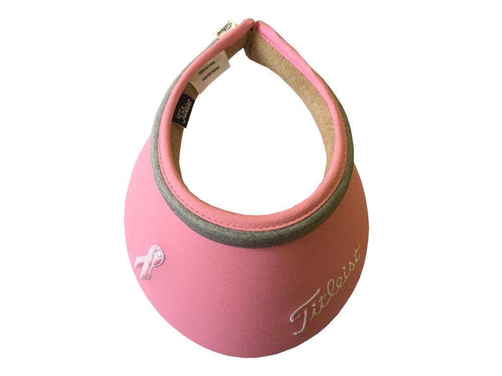 TITLEIST dámský kšilt Pink Ribbon růžový