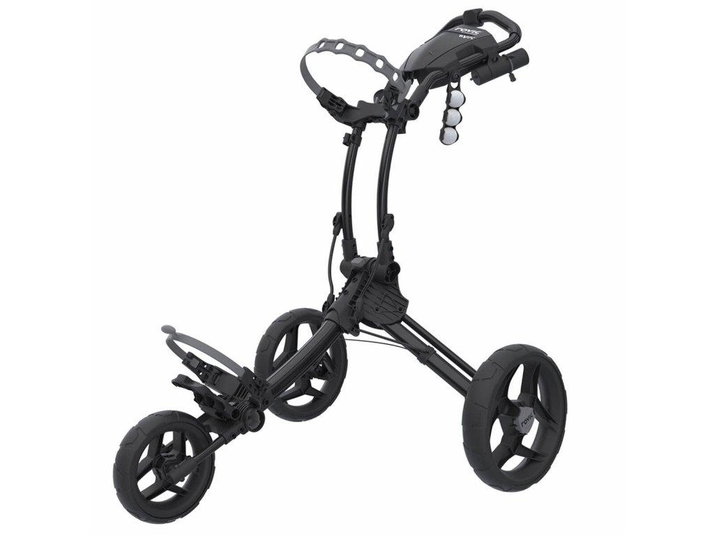 ROVIC RV1C golfový vozík Charcoal/Black