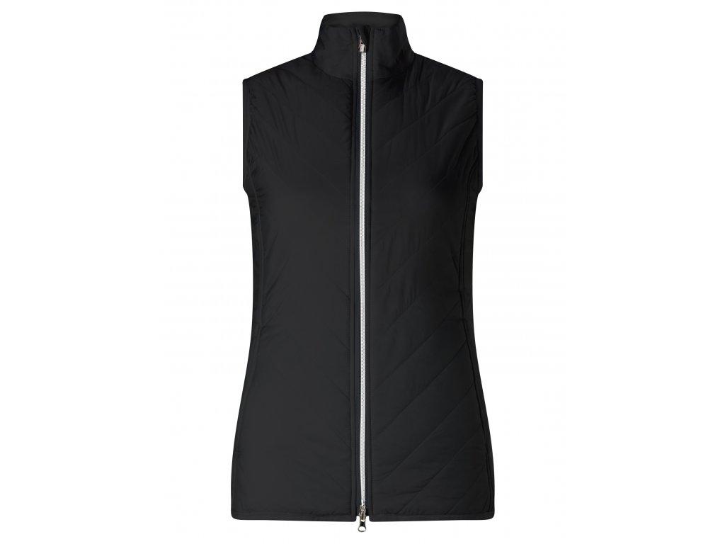 CALLAWAY dámská vesta Puffer černá (Velikost oblečení XS)