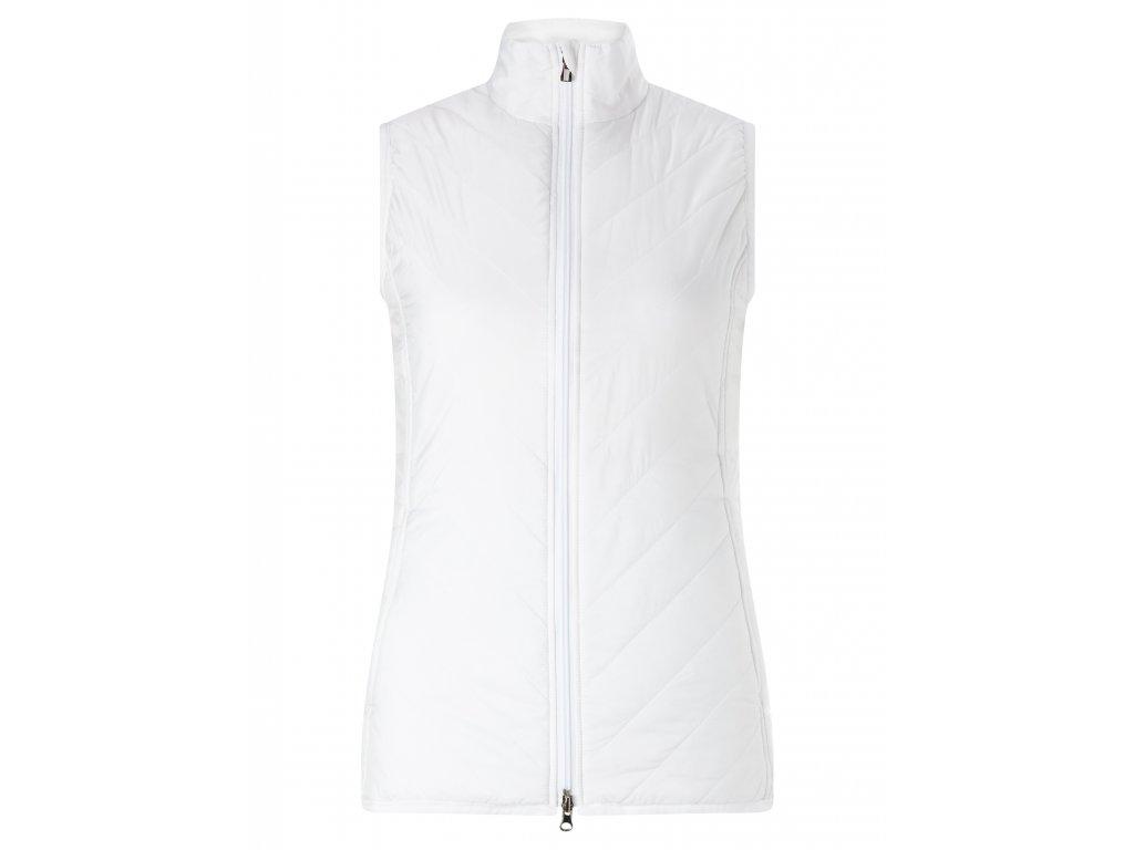 CALLAWAY dámská vesta Puffer bílá (Velikost oblečení XS)