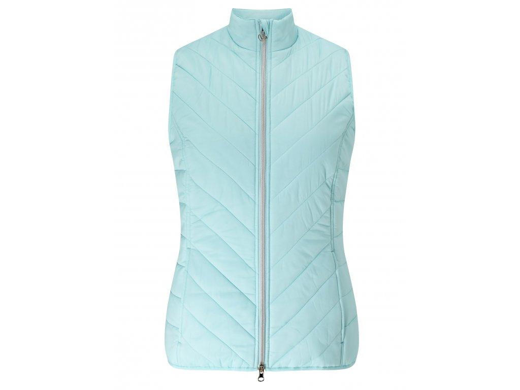 CALLAWAY dámská vesta Puffer zelená (Velikost oblečení XL)