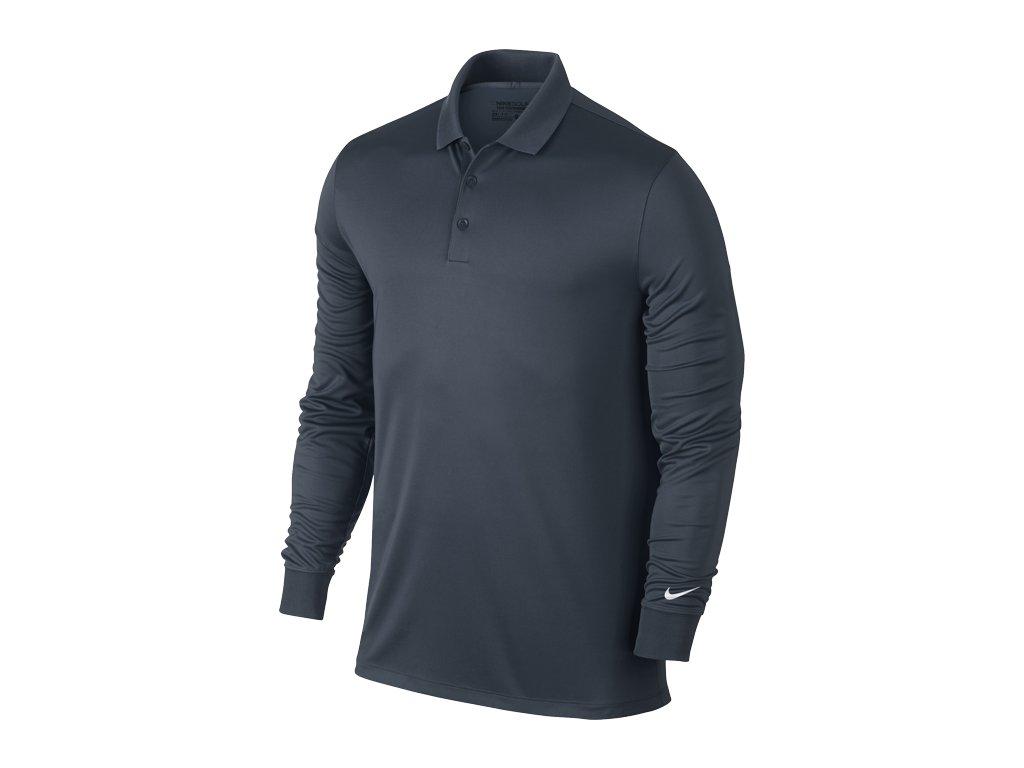 NIKE pánské tričko Victory L/S tmavě modré (Velikost oblečení XXL)