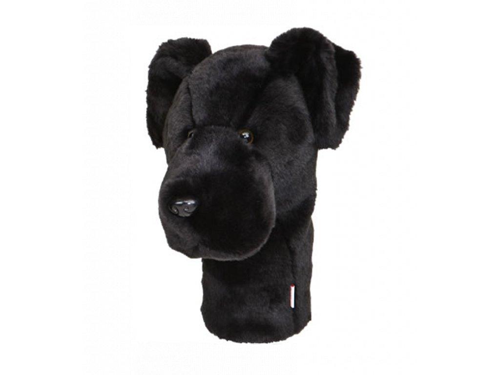 Daphnes headcover černý Labrador