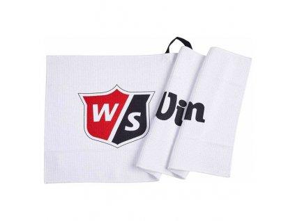 WILSON Tour ručník bílý