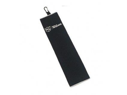 WILSON Trifold ručník černý