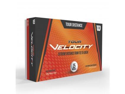 WILSON Tour Velocity Distance míčky - 15 ks