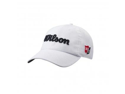 WILSON Pro Tour pánská kšiltovka bílo-černá