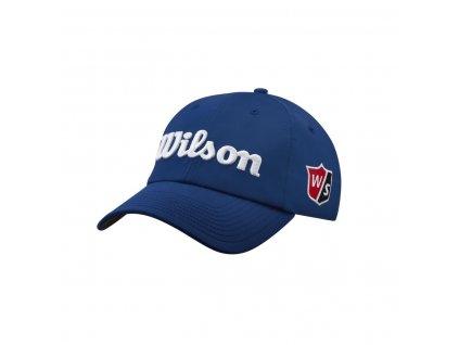 WILSON Pro Tour pánská kšiltovka modro-bílá
