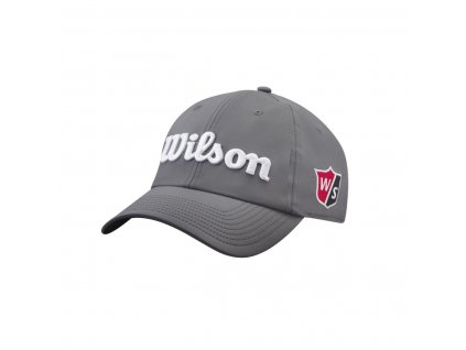 WILSON Pro Tour pánská kšiltovka šedo-bílá