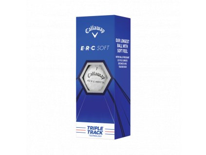 CALLAWAY ERC Soft 21 Triple Track golfové míčky -3 ks -12 ksballs 2021 erc soft triple track 2 2