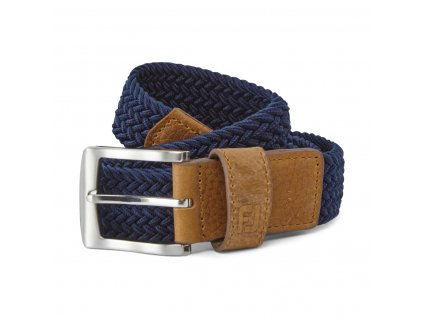FOOTJOY Braided pánský pásek modrý