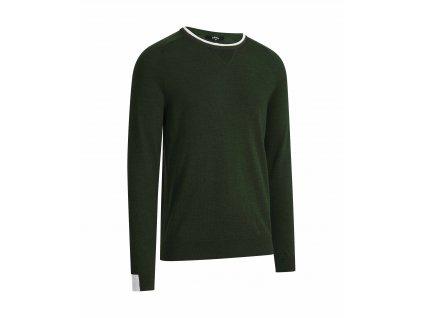 CALLAWAY Merino pánský svetr zelený