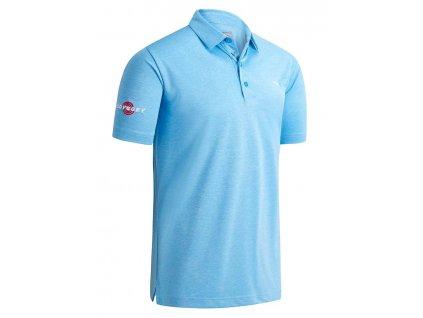 CALLAWAY Birdseye pánské tričko modré