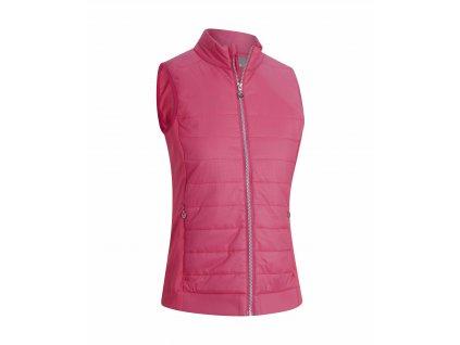 CALLAWAY Lightweight Puffer dámská vesta růžová