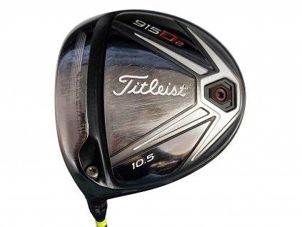TITLEIST D15D2 golfový driver 10,5° - levý + Headcover