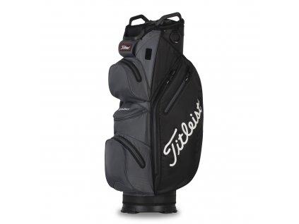 TITLEIST 14 Sta Dry Cart bag na vozík černo-šedý