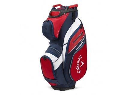 CALLAWAY Org 14 cart bag na vozík červeno-modrý