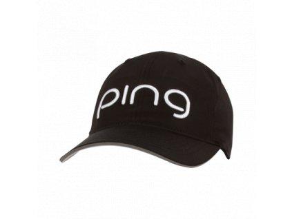 PING Performance dámská kšiltovka černá
