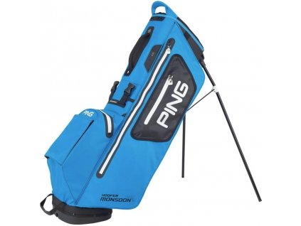 PING Hoofer 201 standbag double strap modro černý