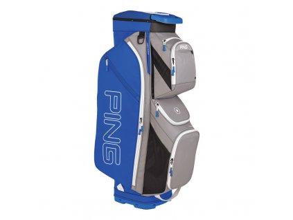 PING Traverse 191 cartbag stříbrno modrá