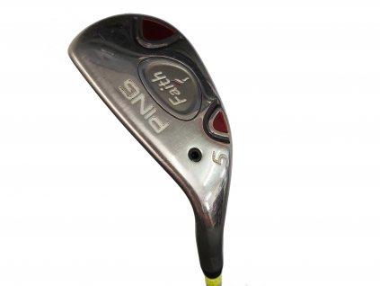 PING Faith dámský golfový hybrid č. 5  - levý + Headcover