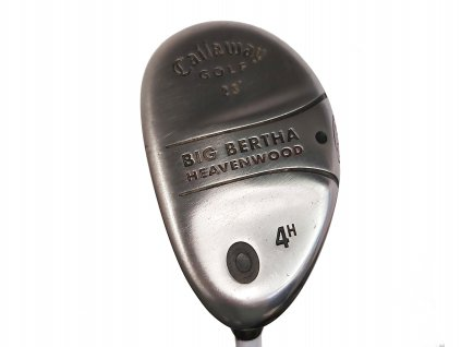 CALLAWAY Big Bertha Heavenwood golfový hybrid č. 4 (23°) - levý + Headcover