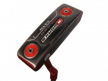 ODYSSEY O-WORKS Tank Red golfový putter 35 palců + Headcover