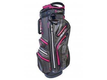 BIG MAX cart bag I-Dry Aqua Drive na vozík šedo-růžový
