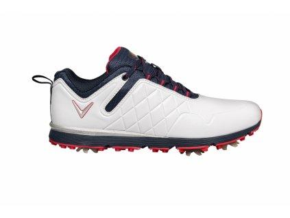 W637-22 Mulligan dámské boty bílo-modré