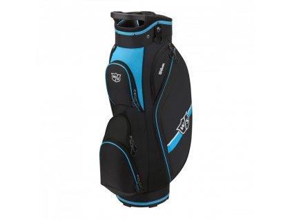 WILSON Staff Lite II cart bag černo-modrý