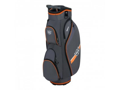 WILSON Staff Lite II cart bag šedo-oranžový