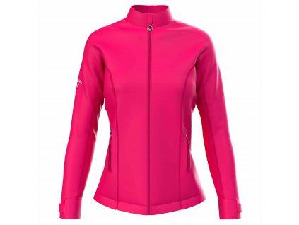 CALLAWAY Wind Soft Shell dámská bunda růžová