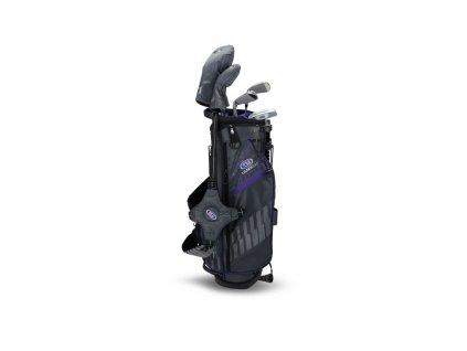US Kids Golf WT15-S dětský golfový set UL54 (137 cm) šedo-fialový