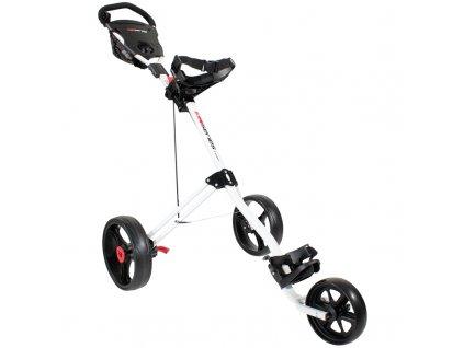 MASTERS 5 Series 3 Wheel golfový vozík bílý