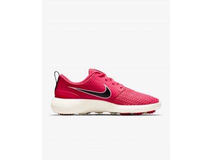 NIKE Roshe G dámské golfové boty červené