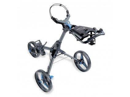 MOTOCADDY Cube Push golfový vozík Graphite/Blue