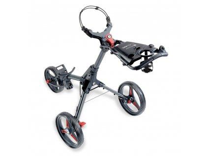 MOTOCADDY Cube Push golfový vozík Graphite/Red