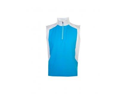 PROQUIP Hurricane Fleece pánská vesta modro-šedá