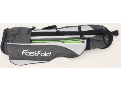 FASTFOLD Pencil bag Sunday šedivo-bílo-zelený