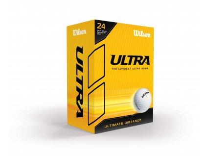 WILSON Ultra Distance golfové míčky (24 ks)