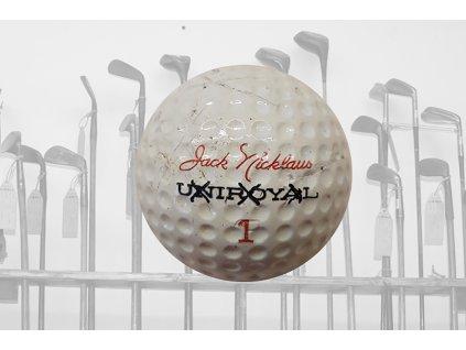 Historický golfový míček JACK NICLAUS Uniroyal č. 1